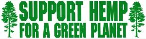 S629-Support-Hemp-For-A-Green-Planet-Bumper-Sticker-Decal